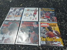 Lot of 6 1990s MICHAEL JORDAN - CHICAGO BULLS sports magazines.