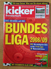 kicker Sonderheft Bundesliga 2008/09