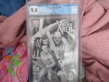 All New X-men 22 Now Dale Keown Black & white sketch variant CGC 9.4  1:50