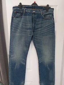 "Levi 501 Mens Jeans 40""  Waist 32""  Inside Leg"