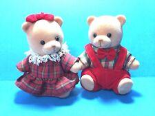 "Russ ""Girl and Boy Fuzzy 3"" Bears"" Figures"