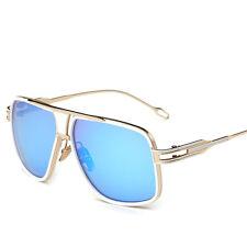 2017 New Mens Sunglasses Vintage Big Frame Goggle Sun Glasses Square Shades