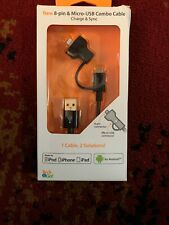 Tech & Go 3ft Multiple 2.1amp ANDROID And iPhone