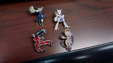 Pokemon Mega Mewtwo Collector Pin Set w/ Yveltal and Xerneas Pins!!
