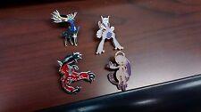 Pokemon Mega Mewtwo Collector Pin Set w/ Yveltal and Xerneas Pins!!