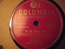 78 RPM LES BROWN COLUMBIA 36961 IN THE MOON MIST