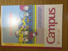 Japanese university notebook 70`s cute Sanrio characters