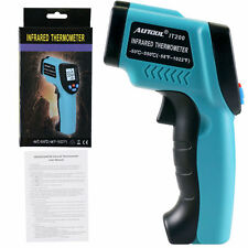 New IT200 Non-Contact LCD IR Laser Infrared Digital Temperature Thermometer Gun