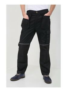 NEW Mens Combat Work Trousers Size 30 to 42 CARGO with KNEE PAD POCKETS (AQ787)