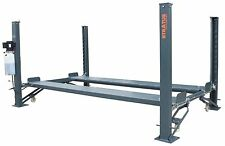 Stratus 4 Post 9000 lbs Capacity Manual Release Car Lift Auto Hoist W/Castors