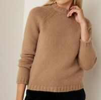 Weekend Max Mara Saturno Camel Cashmere Yarn Jumper Size XS New With Tags