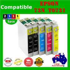 5x T0731 T73 73 ink cartridges For Epson C79 92 110 CX3900 4905 6900 5500 5510