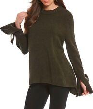 0e7cadcf2f New Women s Antonio Melani Luna Tie Sleeve Sweater Size L Green  139.00