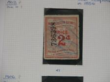 Great Britain, North Eastern Railway Newspaper Parcel stamps 1903, Die III # 41