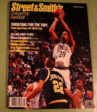STREET & SMITH'S COLLEGE / PREP BASKETBALL 1993 - 1994 YEARBOOK STEVE WOODBERRY