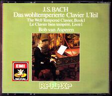 Bach le tempérée clavier 1 Bob van Asperen EMI 2cd well-tempered clavecin