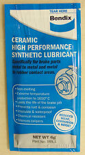 Bendix Brake Lube 6g Sachet for Nissan Toyota Subaru Lexus Ford Holden VW Skoda