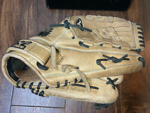 "Mizuno Leather Glove Baseball Left Gmvp 1258 12.5"" Surefit Fast Pitch Ultra Soft"