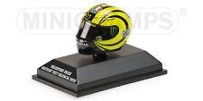398 100066 Minichamps Agv Casco Valentino Rossi MotoGP Test Valencia 2010 Ed45