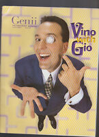 Genii Conjurors Magazine February 2002 Vino with Gio