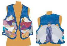 """Keepsake Quilting """"Heavenly Angels"""" Vest PATTERN & FABRIC KIT  Sizes 8-18 NEW!"""