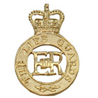LIFE GUARDS SCGM CAP BADGE HOUSEHOLD CAVALRY REGIMENT-NSN MOD ISSUE