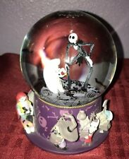 Disney Parks Nightmare Before Christmas Jack and Friends Sculpted Snowglobe New