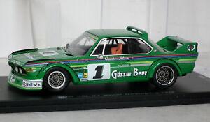 Spark BMW CSL 1st 1977 Nurburgring ETCC 1/43 SG003 Quester Nilsson 1/1000 Boxed