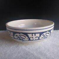 Potting Shed Starr Dedham Pottery Bowl Rabbit Motif Crackle Glaze BIN OBO FS