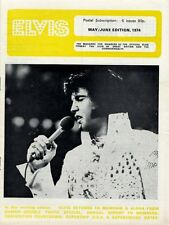 Elvis Presley Fan Club Magazine May/June 1974 CD
