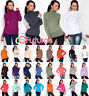 Classic Plain New Stretch Women's Polo Turtle Neck Multicolor Long Sleeve FT545