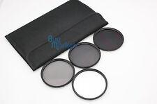 New 72mm ND2+ND4+ND8 +Soft Filter ND Kit Set with CASE for DC DSLR Camera Lens