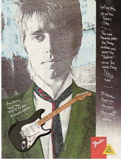1987 ERIC JOHNSON IN A FENDER STRATOCASTER GUITAR AD