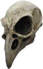 Adult Crow Bird Skull Mask Scary Latex Medieval Black Death TV Film  Halloween