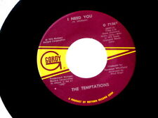 TEMPTATIONS~YOU'VE GOT MY SOUL ON FIRE~NEAR MINT~I NEED YOU~GORDY 7136~~ SOUL 45