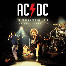 AC/DC New Sealed 2019 VETERANS MEMORIAL 1978 LIVE CONCERT VINYL RECORD