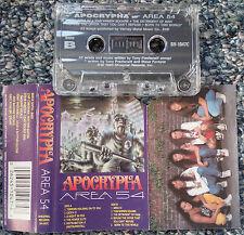 Apocrypha - Area 54 Cassette Tape,Tony Fredianelli Cacophony 9.0 Marty Friedman
