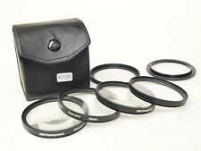 SRB 58mm Close-Up Filter Set with Case and Adapter Rings. Stock No u11138