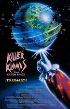 "Killer Klowns From Outer Space movie poster -  11"" x 17"" inches"
