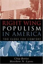 Right-Wing Populism in America: Too Close for Comfort-ExLibrary