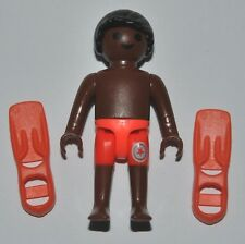 550029 Niño color bañador playmobil playa beach piscina