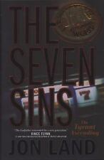Mint Cond The Seven Sins : The Tyrant Ascending 1 by Jon Land Hardcover Book