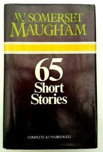 W. Somerset Maugham 65 Collection Short Stories First Edition 1976 Vintage Book