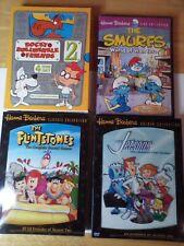 Hanna Barbera .The Flintstones.Jetsons.The Smurfs.and Rocky Bullwinkle.Dvd