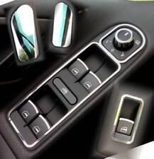 D VW Golf 6 Chrom Rahmen für Schalter Fensterheber - Edelstahl poliert 2xRa2xBl