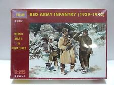 ICM WWII Red Army Infantry (1939-1942), 3 Figures Model Kit 35051