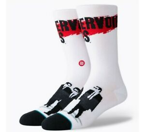 STANCE RESERVOIR DOGS EVERYDAY CREW SOCK WHITE LARGE M545C19RES