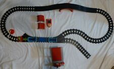 Vintage 90s PLAYMOBIL Geobra TRAIN Set w/ 37 Pieces - Track, People, Station