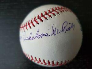 Calvin Coolidge Julius Caesar Tuskahoma McLish Autographed Baseball