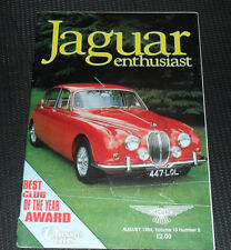 Jaguar Enthusiast Magazine, August 1994